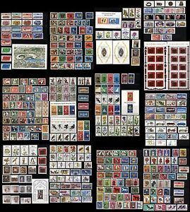 400+ GERMAN DEUTSCHE BUNDESPOST Stamps Postage Sheets Collection MINT LH Used