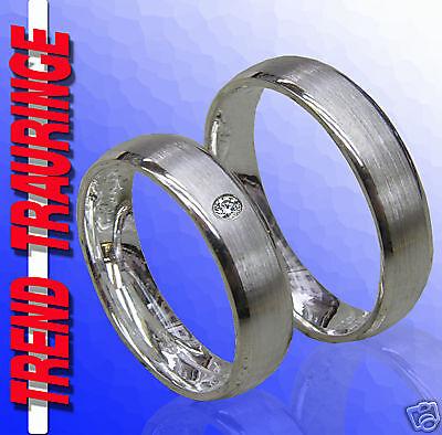 T40-1 2 Trauringe Eheringe Partnerringe Verlobungsringe Silber /& Gravur GRATIS