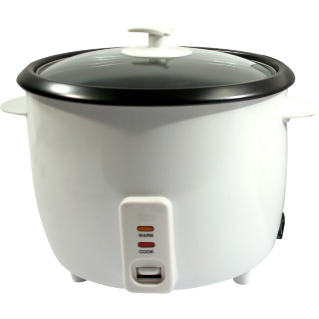 2.5L NON STICK AUTOMATIC ELECTRIC RICE COOKER POT WARMER WARM COOK 2.5 LITRE