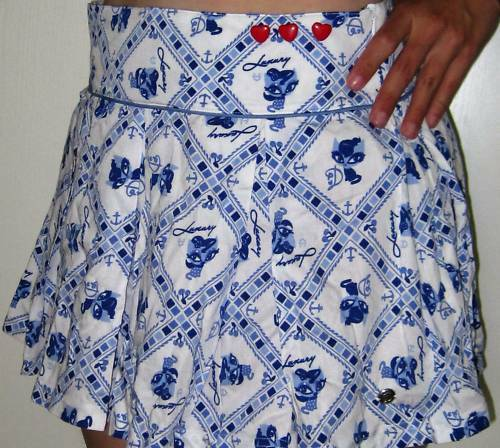 Pussy Deluxe Carre Skirt S NEU