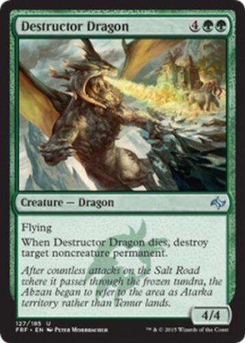 Destructor Dragon MTG MAGIC FRF Fate Reforged Eng//Ita 4x Drago Distruttore