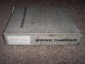 sterling trucks wiring diagrams manual cat 3126 3306 3406 c10 c12 image is loading sterling trucks wiring diagrams manual cat 3126 3306