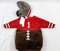 Koala Kids Baby Boy Football Player Costume Size 6-9m - 2 Piece Halloween