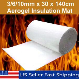 Details about 30x140cm 3/6/10mm Super Light Silica Aerogel Insulation  Hydrophobic erial