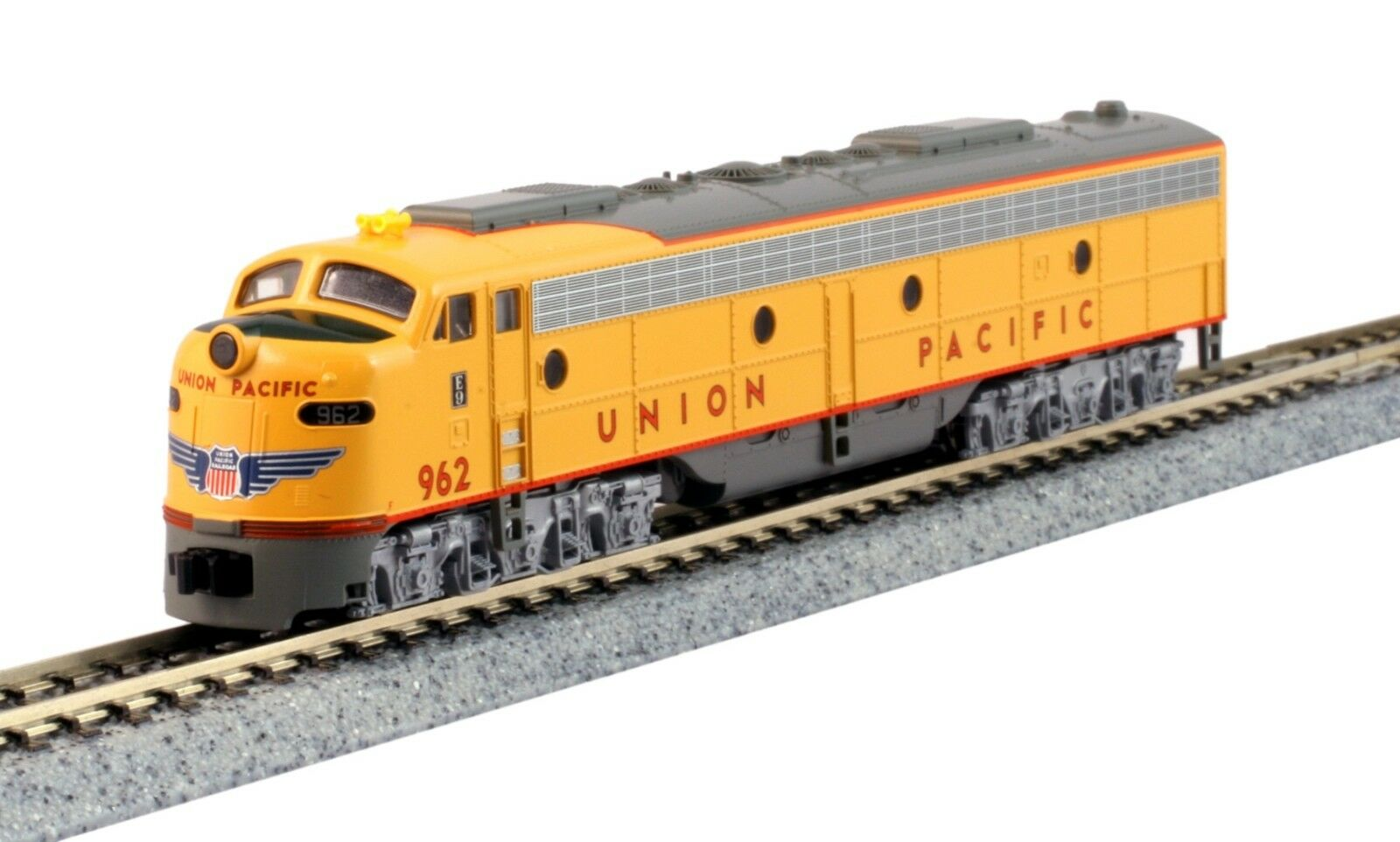 nuevo Kato 176-5318 N escala E9A Union Pacific 962 la ciudad de Los Angeles DC 1765318