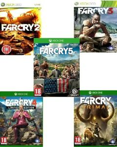 FAR-CRY-Xbox-One-Xbox-360-Backward-Compatible-Assorted-MINT-Super-Fast-Deliver