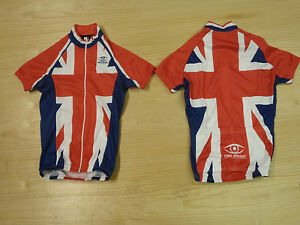 a15d14683 LADIES UNION JACK SHORT SLEEVE CYCLING JERSEY SMALL MEDIUM UK P P ...