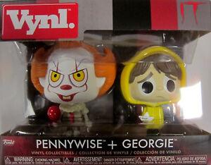 figuren Set Billiger Preis Pennywise & Georgie It / Es Knitterfestigkeit Funko Vynl!