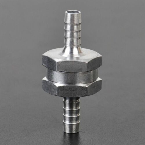 "1//2/"" 12mm One Way Air Valve Prevent Oil Petrol Diesel Water Aluminium Alloy"