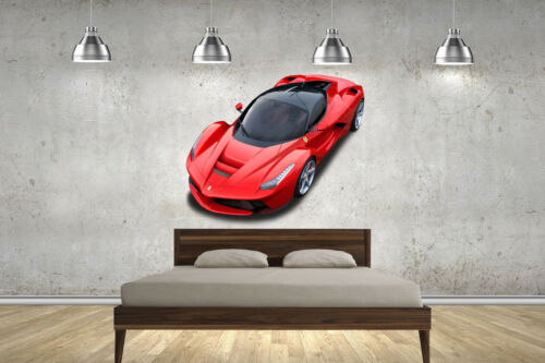LaFerrari NEW Hyper Super Cars Decal Wall Stickers Childrens Bedrooms 2 Sizes