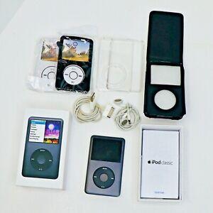 Apple Ipod Classic 160gb Black Mc297ll A 7th Generation Complete W Box 885909341320 Ebay