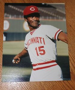 George-Foster-Cincinnati-Reds-unsigned-color-8X10-photo-MLB-Reds-HOF