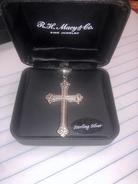 R H Macy & Co Fine Jewelry 14k Gold Sterling Silver Onyx ...
