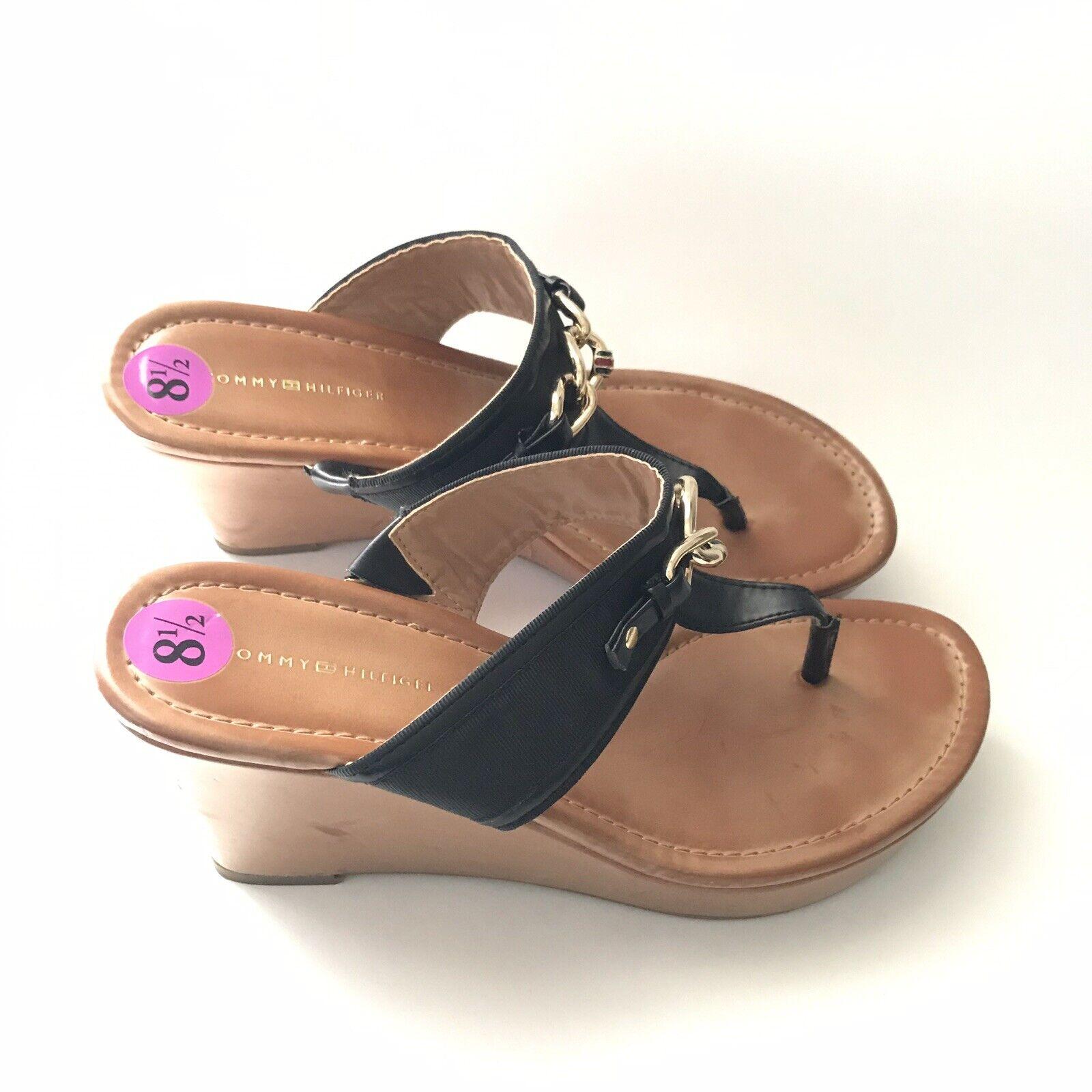 tommy hilfiger Womens Sandal Size 8.5M Melane Tho… - image 9