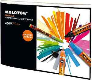 MOLOTOW-ONE4ALL-PROFESSIONAL-SKETCHPAD-MARKER-PAPER-PAD-A4-LANDSCAPE