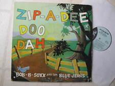 "BOB-B-SOXX BLUE JEANS 1963 ""ZIP-A-DEE-DOO-DAH"" ORGNL PHIL SPECTOR LP MINTY FRESH"