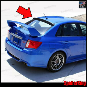 380r subaru impreza wrx sti 4dr 2007 2014 rear roof spoiler window wing ebay details about 380r subaru impreza wrx sti 4dr 2007 2014 rear roof spoiler window wing