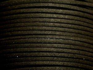 Bobine-90-metres-Cordon-Laniere-Suedine-3mm-Noir