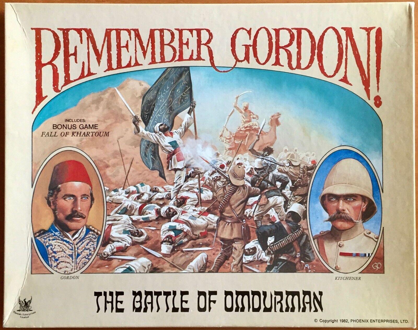 Remember Gordon - Phoenix Enterprises 1982 -  UNPUNCHED  molte sorprese