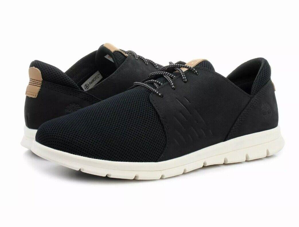 Timberland Graydon Oxford Black Nubuck Mens Sneakers Shoes A1XG2 UK 7 EU 41