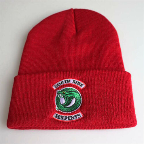 Riverdale South Side Serpents Warm Beanie Hat Winter Knitted Cap Unisex Gift