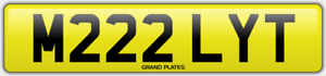 M222-LYT-REGISTRATION-MILLY-T-NUMBER-PLATE-ASSIGNMENT-FEES-INCLUDED-MILLIE-REG