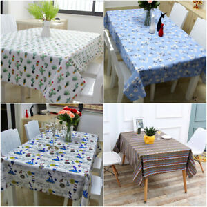 Image Is Loading DIY Cotton Restaurant Dining Table Cloth Cover Cafe