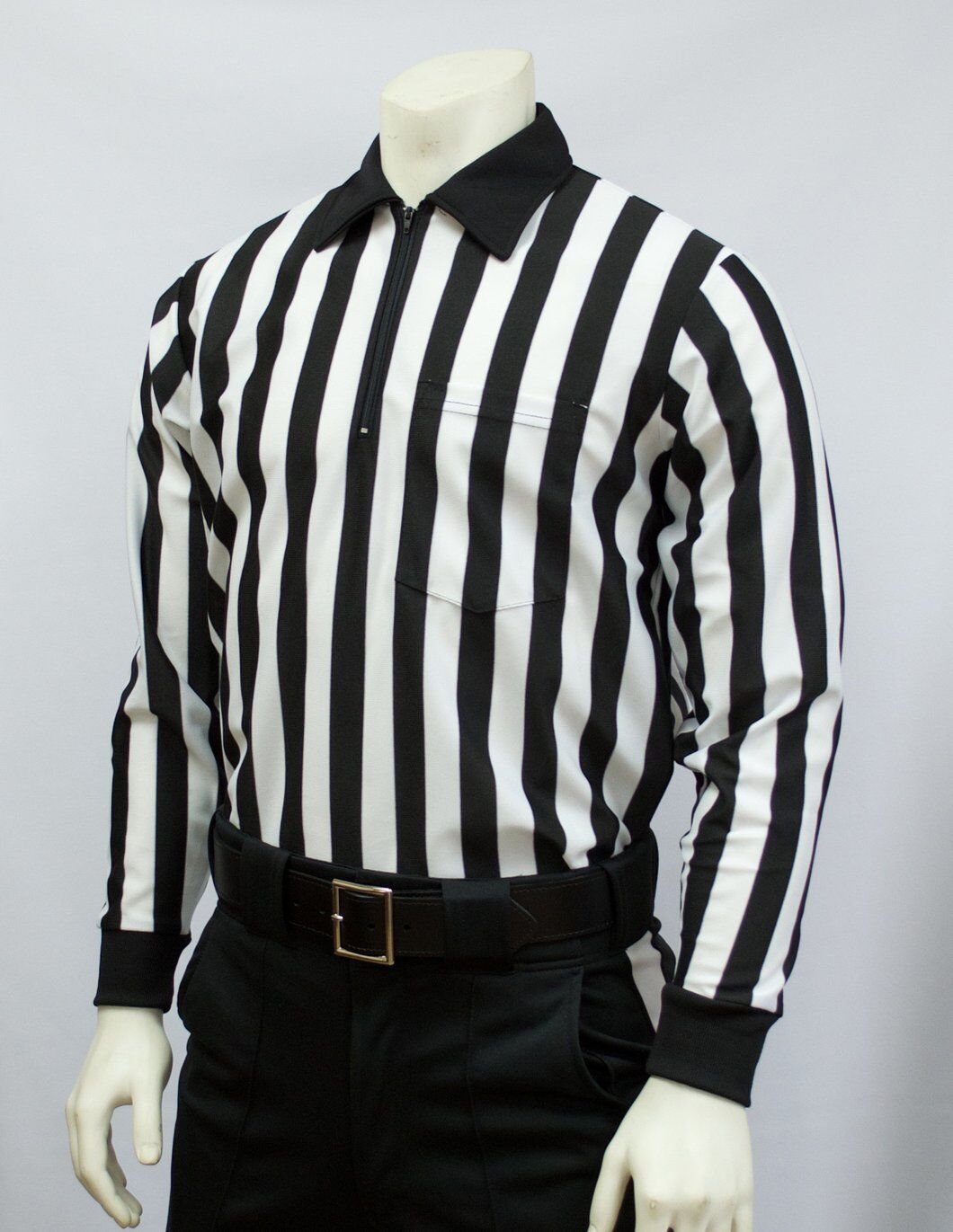 SMITTY   FBS-102   100% Polyester Referee Officials Long Sleeve Shirt Football