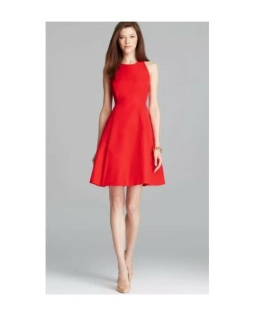 104c03ba17c New 448  Kate Spade Angelika Dress Red Size 2