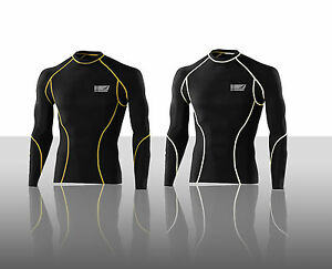 ProAthletica-Mens-Cycling-Gym-Compression-Base-Layer-Thermal-Vented-Armpit-Top