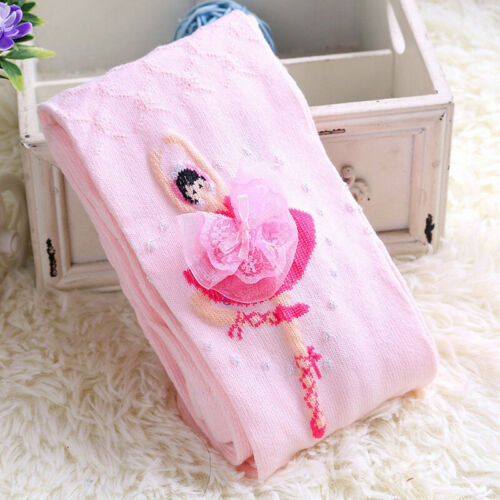 Princess Ballet Baby Socks Cotton 4-12y Pantyhose Stockings Tights Lovely Girl