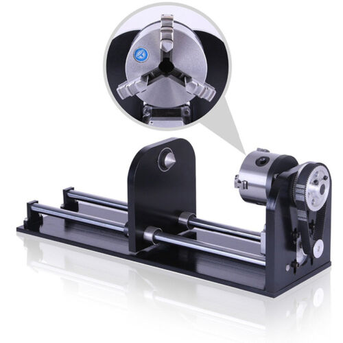 Laser Rotary Axis for Co2 Laser Engraving Machine with 80 mm Accessory 230 mm