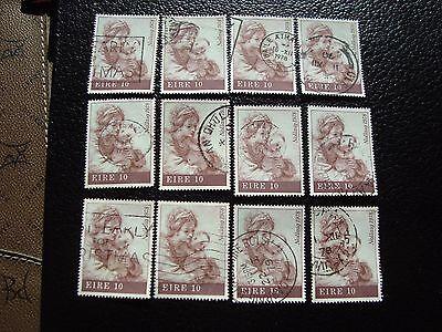 a32 a Irland Briefmarke Yvert Und Tellier Nr 392 X12 Gestempelt Ein BrüLlender Handel