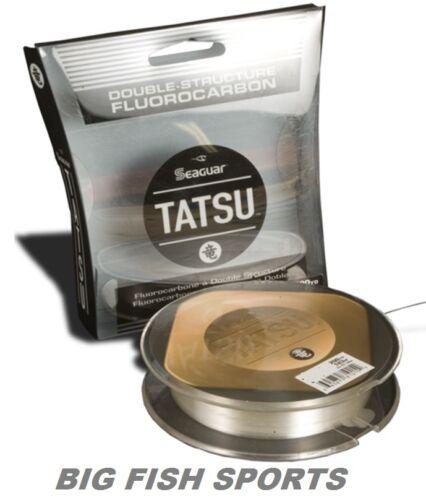 SEAGUAR Tatsu 100/% Fluorocarbone Ligne 6lb//200yd 06 TS 200 Free USA livraison!