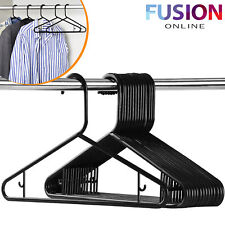 Adult Coat Hangers Hanger Clothes Garment Dress Trousers Bar & Lips Black