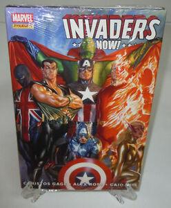Invaders Now! Captain America Toro Marvel Comics HC Hard Cover Brand New Sealed