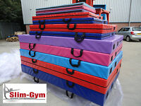 Slim-gym Gymnastics Gym Crash Landing Mat Size 6ft X 4ft X 4 Thick - Red