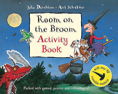 1 of 1 - Room on the Broom Activity Book, Donaldson, Julia, Very Good Book