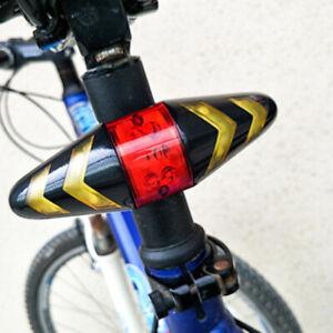 LED Bicycle Rear Tail Bike Indicator Laser Turn Signal Light Wireless Remote USB