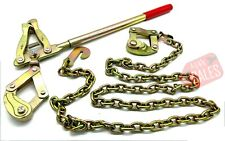 New Chain Strainer Cattle Barn Farm Fence Stretcher Tensioner Repair Barbed Wire