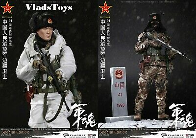 "FLAGSET FS 73018 1//6th Chinese Border Guards Tactical Boot for 12/"" Action Figure"
