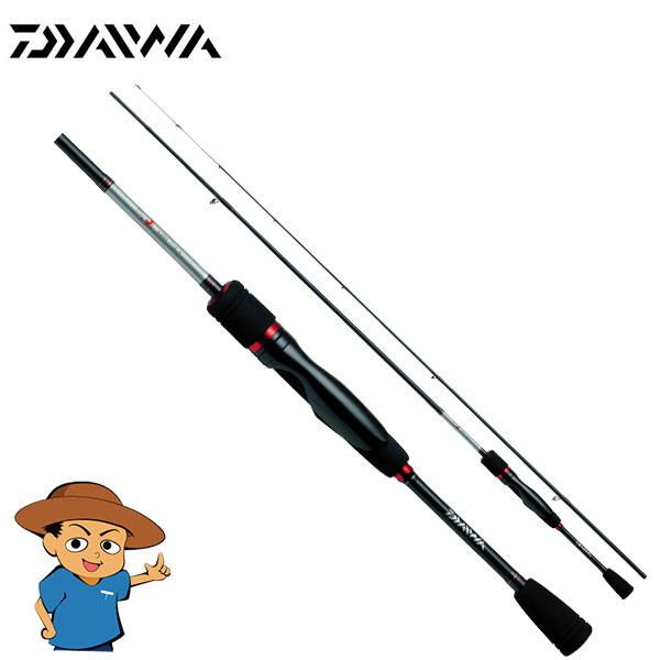Daiwa GEKKABIJIN AJING 74L-S Light 7'4  fishing spinning rod SOLID TOP