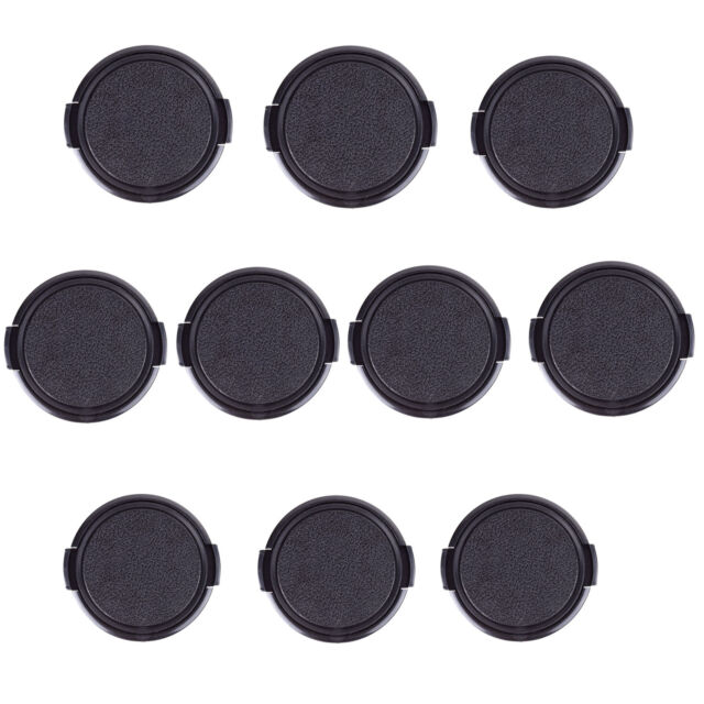 10pcs 40.5 52 55 58 62 82 mm Side Pinch Snap-on Cap Cover f all Lens Filter