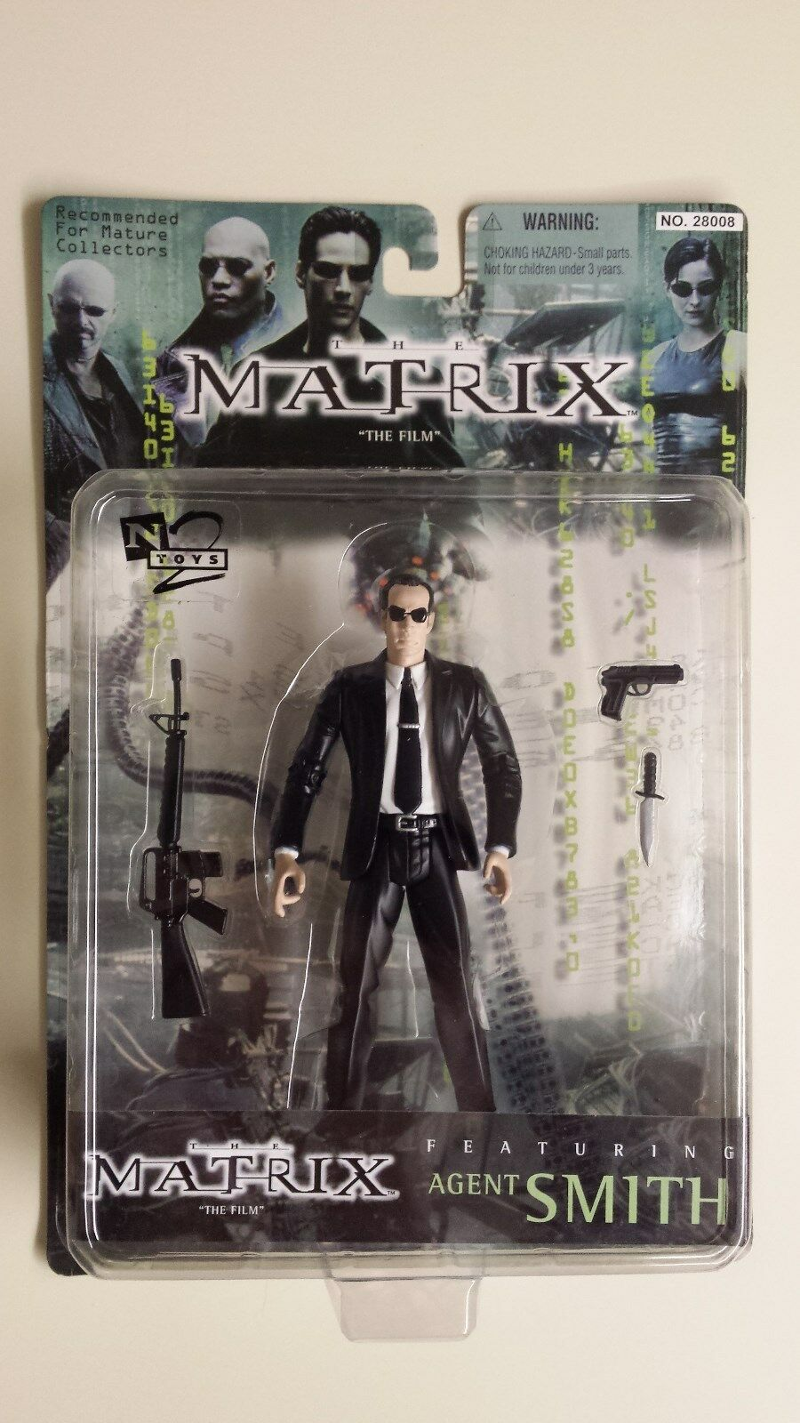 The Matrix  The Film  Featuring Agent Smith 1999 Original N2 Toys