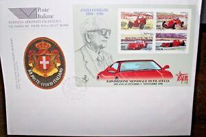 ITALIA-REPUBBLICA-1998-034-ENZO-FERRARI-034-BUSTA-I-GIORNO-FDC-CAT-A