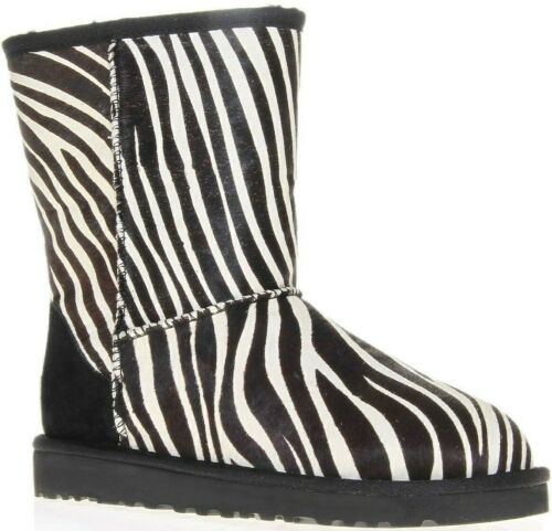 Ugg Boots Exotic - Zebra Skin - Size 8