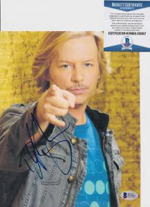 David-Spade-Joe-Dirt-Signed-Autograph-8x10-Photo-Beckett-BAS-COA