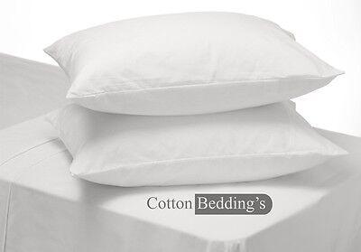 Hotel White 1000TC 100% Egyptian Cotton Low Price Festival Offer 2pc Pillow Case