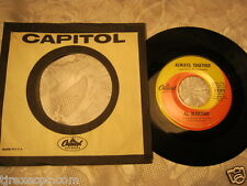 Al Martino Always together /Thank you for loving me 45 record & sleeve