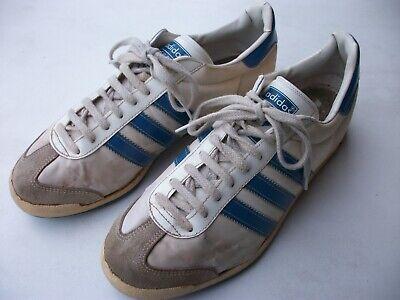 Gelernt Adidas Silex Vintage Sportschuh Größe 7,5, Für Sammler / Zur Dekoration, Rarität